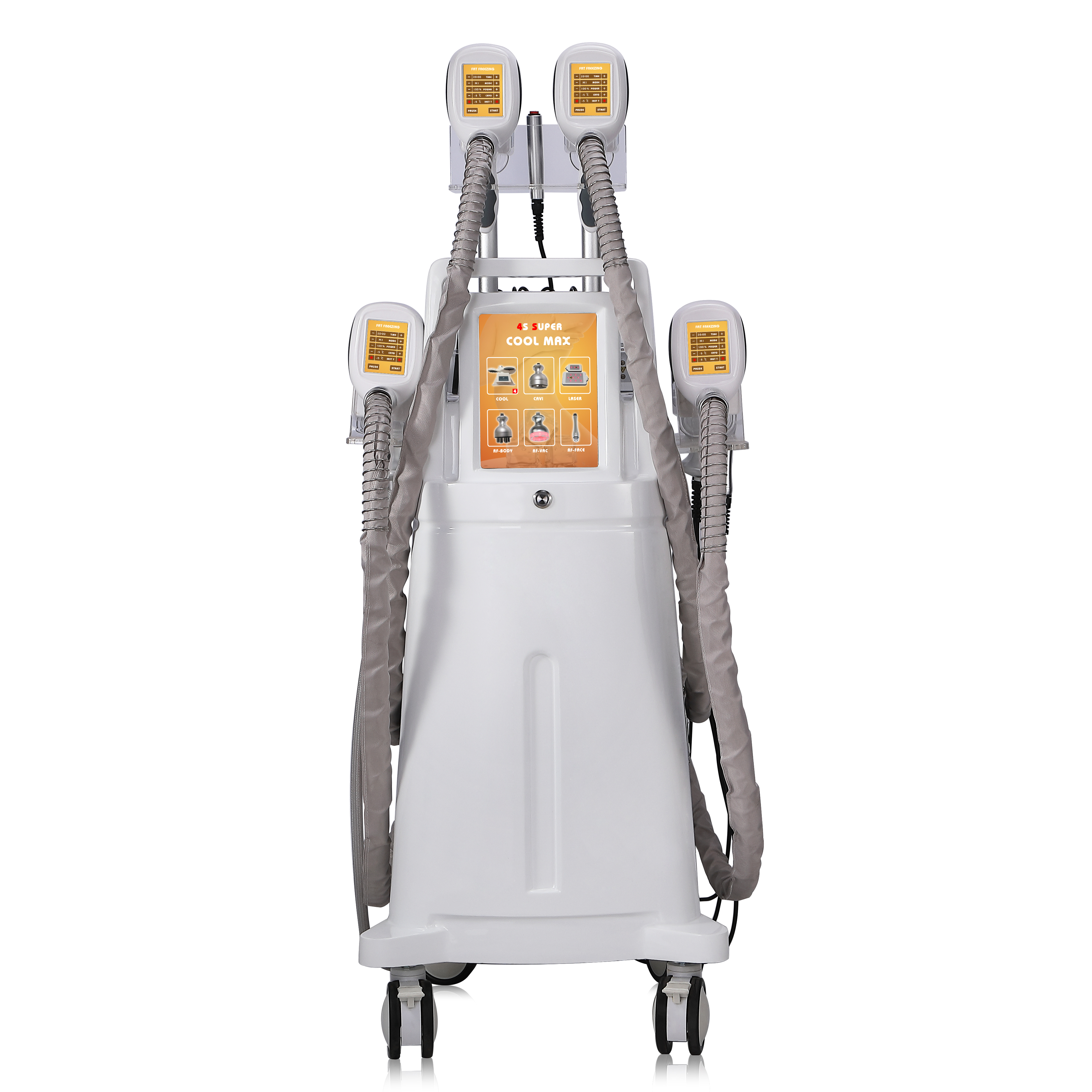 6 In 1 Multifunction Vacuum RF Lipo Laser Portable Cryo, Lipo Laser Portable/ Fat Freezing