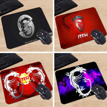 Babaite MSI Movie Tv Poster Custom High Quality Cloth Rubber Desktop Laptop Comfortable 18*22cm and 25*29cm Gaming