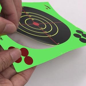 Image 2 - Strzelanie do celu 14X14CM Splash Flower Target 5.5 Cal reaktywność kleju strzelaj cel cel do pistoletu/karabinu/pistoletów