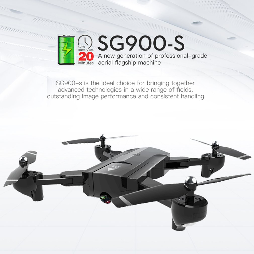 SG900-S 2.4G One Key Return RC Drone Foldable Selfie Smart GPS FPV Quadcopter With 720P/1080P HD Camera Altitude Hold Follow MeSG900-S 2.4G One Key Return RC Drone Foldable Selfie Smart GPS FPV Quadcopter With 720P/1080P HD Camera Altitude Hold Follow Me