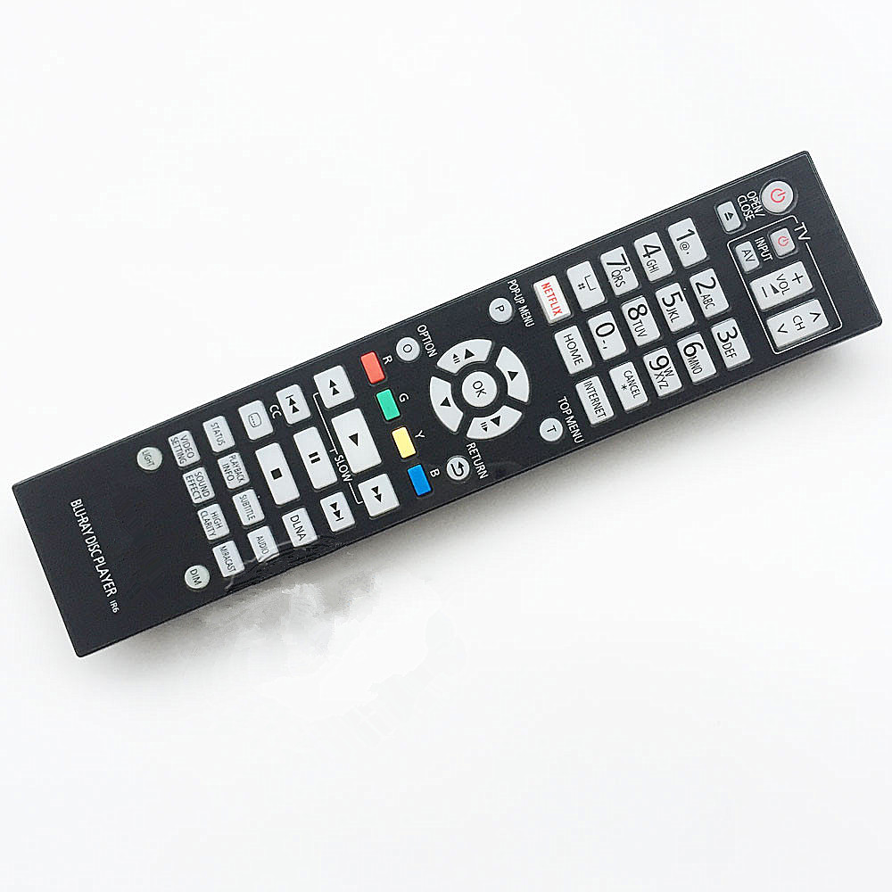 New remote control for Panasonic Blu-ray DVD player remote controller N2QAYA000131 DMPUB900 1 pc new replacement tv remote control for samsung ak59 00172a for dvd blu ray player bd f5700 without battery