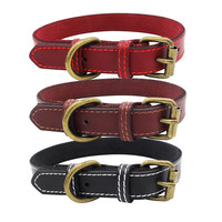 reflective-leather-personalized-engraved-dog-collar-custom-puppy-cat-pet-collars-id-tag-for-for-small-medium-dogs
