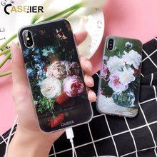 CASEIER Watercolor Painting Phone Case For Samsung Galaxy A3 A5 A7 J3 J5 J7 2016 2017 Soft TPU S9 S8 Plus Funda
