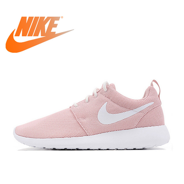 hot sale online 5b696 9e39e US $137.5 |Original Offical Nike Roshe Run One Breathable Women's Running  Shoes Sports Sneakers Classic Outdoor Tennis Shoes Comfortable-in Running  ...