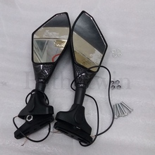 Motorcycle Rearview Mirror with turning light For Daytona 600 675 2003 2004 2005 2006 2007 2008 2009 2010 2011 2012 2013