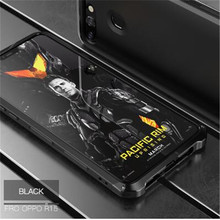 metal Aviation aluminum anti-fall anti-knock good protection Solies Case shell for Oppo R15