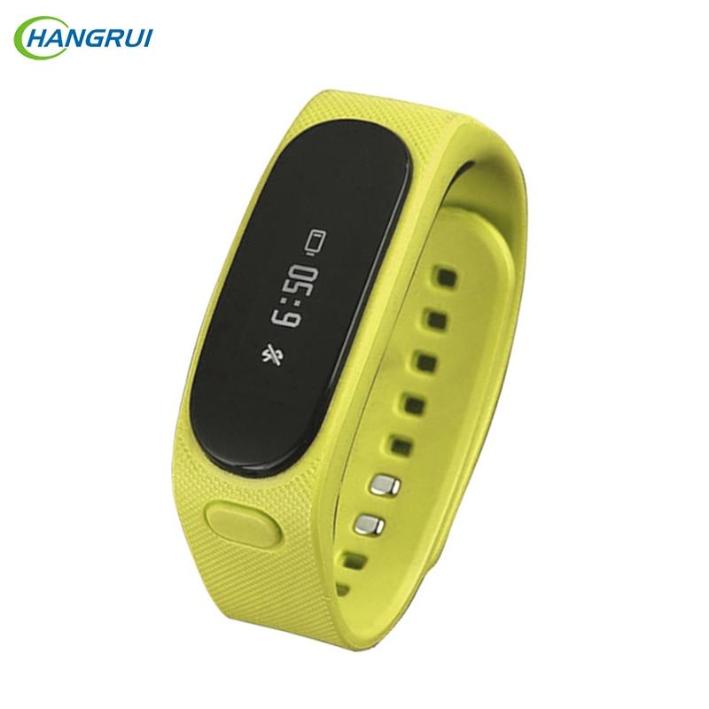 HANGRUI iTalk B1 Smartband Silicone smart wristband IP57 Waterproof Wristband Bluetooth headset Smartwatch for IOS Android