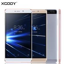 Xgody Y13 смартфон 6 дюймов Android 5.1 4 ядра 1 ГБ Оперативная память 16 ГБ Встроенная память 3 г Dual SIM Разблокирована Сотовый телефоны GPS Wi-Fi 8MP телефон