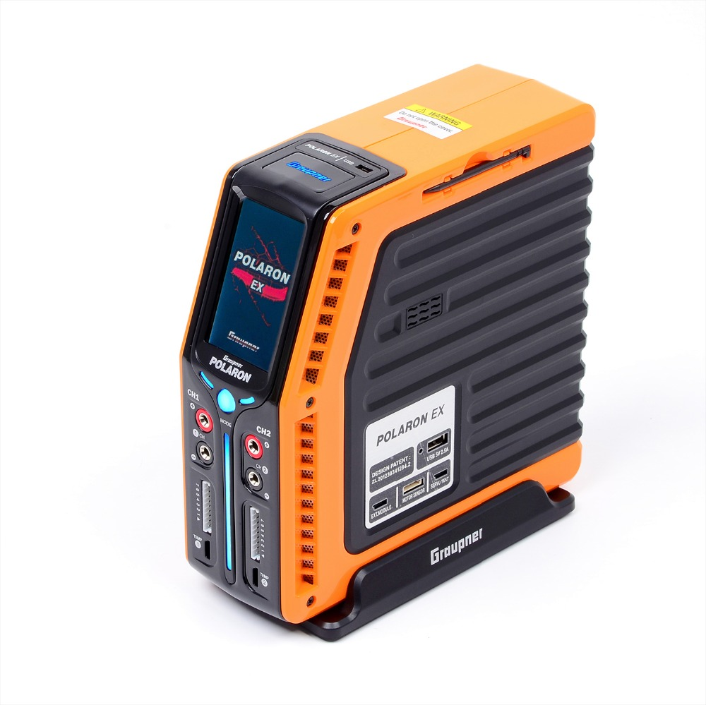 Graupner Polaron EX 800W 7S 3 Color and Touch TFT (Orange)   RC Charger graupner des 708 bb mg
