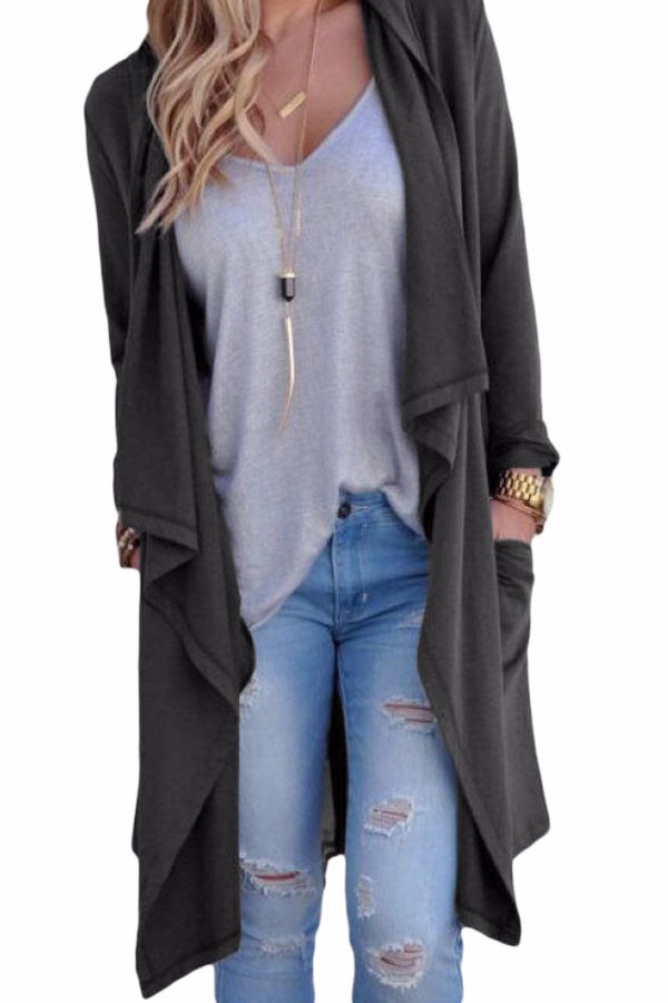 Grey-Drapery-Open-Front-Back-Slit-Oversize-Coat-LC85034-11-1