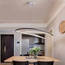 NEO Gleam Moderne Led Kronleuchter Kreative lassen Aluminium Hängen Kronleuchter Fernbedienung Luminaria für Bar Esszimmer