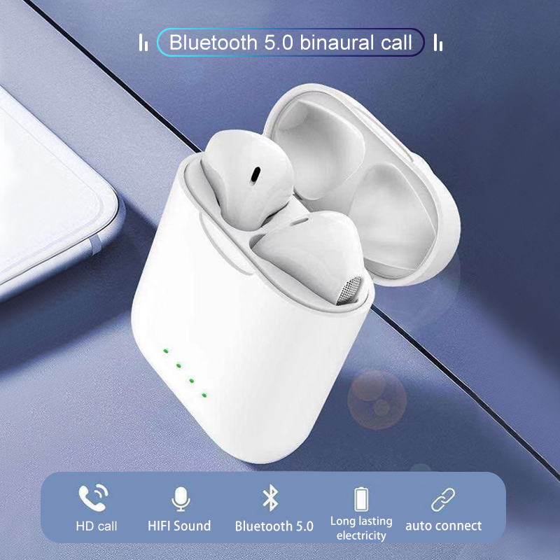 New i88 TWS 1:1 Air pod Wireless Stereo Bluetooth 5.0 Touch Headsets better than i10 i11 i12 i13 i9 tws for all Phone ear pods