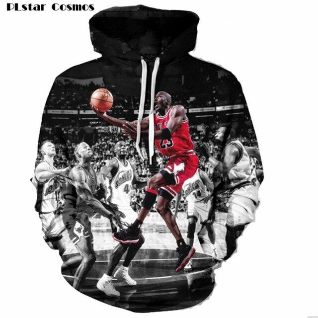 873d2e6e7c474e PLstar Cosmos Fashion Jordan Hoodies Men 3d Print Painting Sweatshirt  Designer Men s Sweatshirts Crewneck Men
