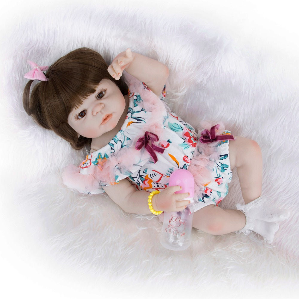 Boneca reborn bebe 57cm silicone inteiro reborn baby dolls girl reborn toddler alive doll toys for child giftBoneca reborn bebe 57cm silicone inteiro reborn baby dolls girl reborn toddler alive doll toys for child gift