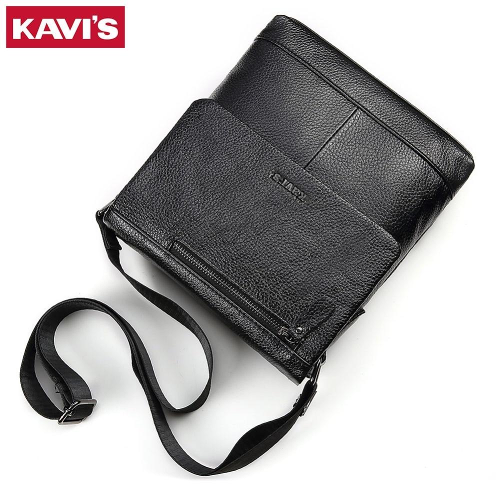 КАВИС пояса из натуральной кожи сумка для мужчин плеча Crossbody сумки Bolsas Sac Слинг Грудь для портфели мужской маленький Элитный бренд