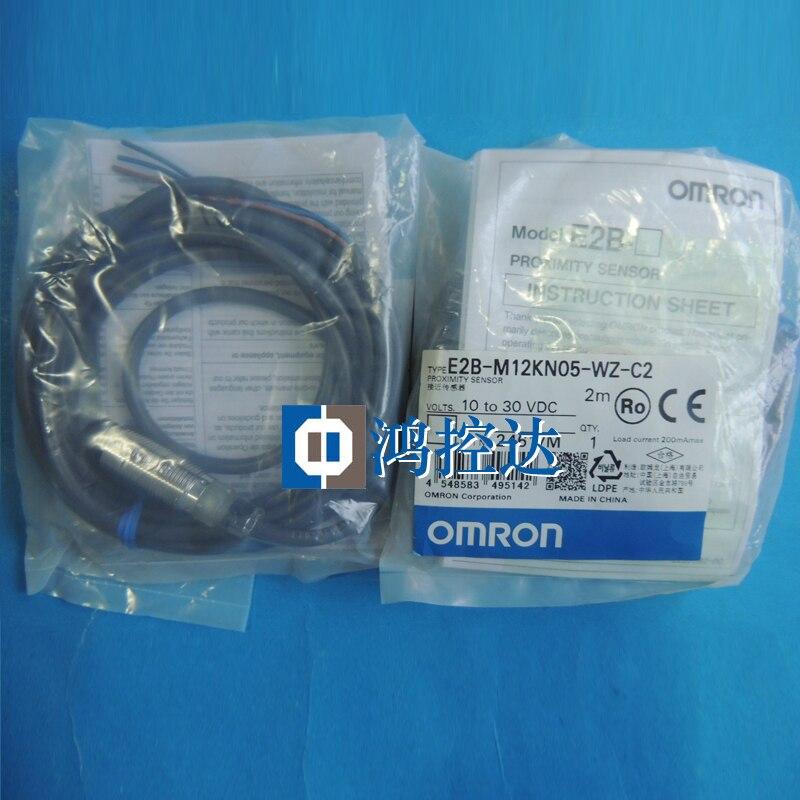 New genuine Omron proximity switch E2B-M12KN05-WZ-C2 proximity sensorNew genuine Omron proximity switch E2B-M12KN05-WZ-C2 proximity sensor