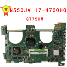 For ASUS N550jv Q550JV N550JA G550JK Laptop Motherboard i7-4700HQ CPU PM GT750 4G Video memory Mainboard 100% tested