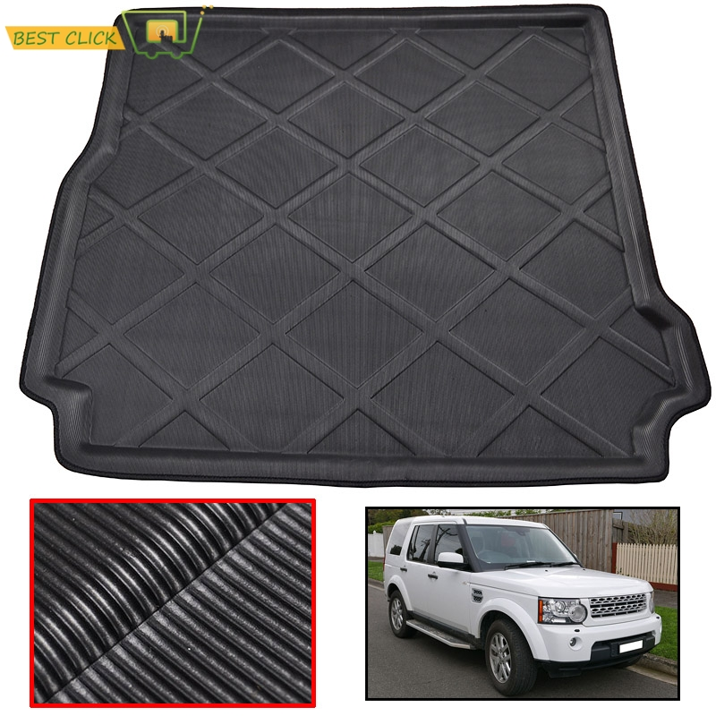 For Land Rover Discovery 3 & 4 LR3 LR4 2005 2016 Rear Trunk Liner Cargo Boot Mat Floor Carpet Tray 2007 2008 2009 2010 2011 2012|boot mat|trunk liner|cargo liner - title=