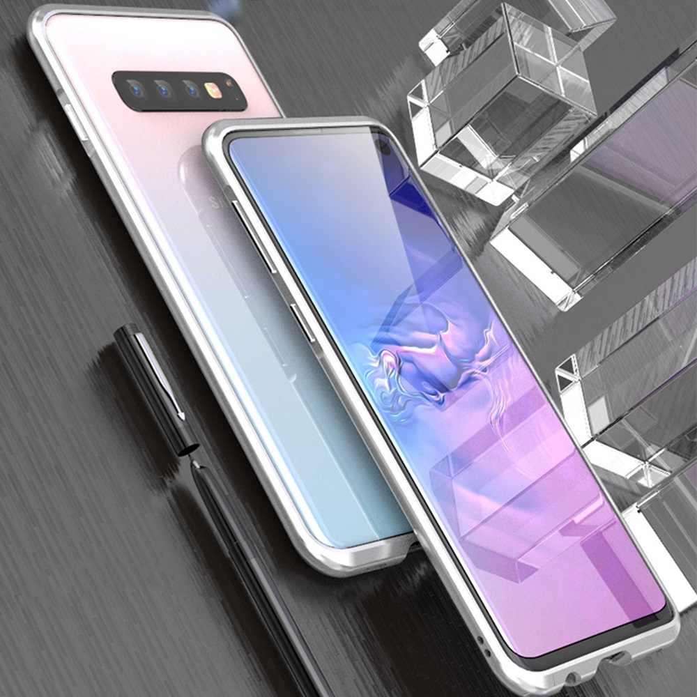 Для samsung Galaxy S10 Plus, чехол-бампер, оригинал, изогнутый металлический чехол Luphie для samsung S10, чехол S10e, ультра тонкая алюминиевая рамка, чехол