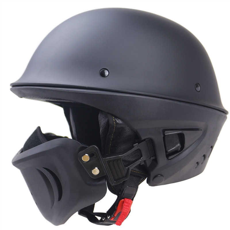 Multi funzione del casco del motociclo Adulti aperto del fronte moto casco DOT approvato e staccabile mascheraMulti funzione del casco del motociclo Adulti aperto del fronte moto casco DOT approvato e staccabile maschera