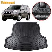 Buildreamen2 per Nissan x trail T30 tappetino per bagagliaio per auto vassoio per bagagliaio fodera per pavimento Cargo fango tappeto 2001 2002 2003 2004 2005 2006 2007