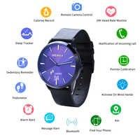 BERNY Bluetooh Hallowmas Smart Heart Rate Smartwatch Sedentary Reminder Sleep monitor relogio inteligente Sport Smartwatch Men