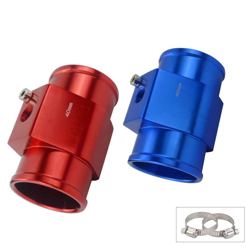 1Pc Water Temp Temperature Joint Pipe Sensor Gauge Radiator Hose Adapter Size 28mm / 30mm / 32mm / 34mm / 36mm / 38mm / 40mm