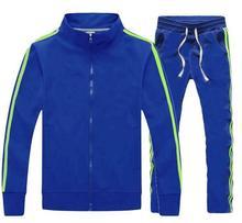 Мужские беговые дорожки Спортивный костюм Спортивная куртка Костюм спортивный костюм Длинные штаны