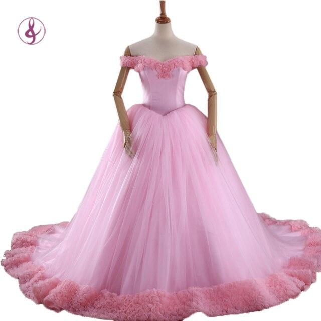 RSM 66266 2016 Puffy Vestidos de Quinceañera Rosa Princesa ...