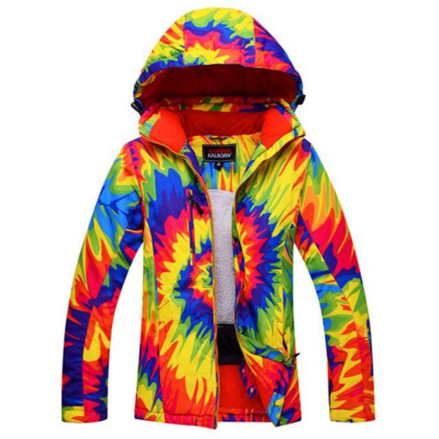 d3710610c91b6c Nieuwe Vrouwen ski Jassen winter Outdoor Warm Snowboard jas vrouwelijke  waterdichte sneeuw jas dames ademend sport