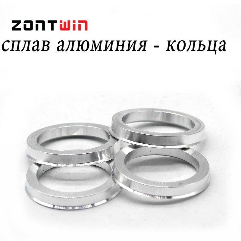 4 teile / lose 65,1 bis 54,1 Hub Zentrischen Ringe OD = 65,1mm ID = - Autoteile - Foto 5