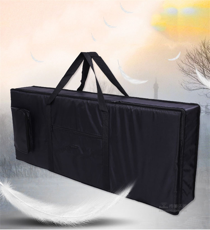 76 key professional Instrument keyboard piano bag thickened cover case double shoulder belt for font b