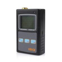 IBQ102 10Hz-2.6 GHz Taşınabilir Frekans Sayacı Tarayıcı Metre Telsiz Alıcı-verici için El Iki Yönlü Ham Radyo İstasyonu