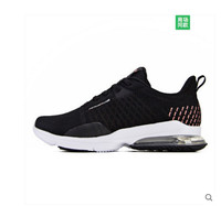 361 women's shoes sports shoes 2019 spring shock absorption light wear resistant 361 degrees air cushion weave running shoes