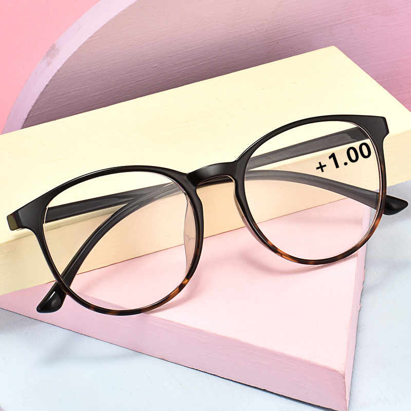 TR90 Glasses Frame Round Men/Women Prescription glasses Myopia Optical Eyeglasses Hyperopia Anti-blue light Discoloration