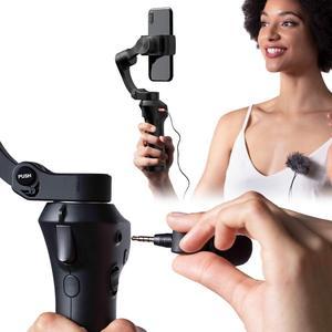 Image 4 - Snoppa Atom katlanabilir cep boyutlu 3 eksen Smartphone el Gimbal sabitleyici GoPro akıllı telefonlar, kablosuz şarj