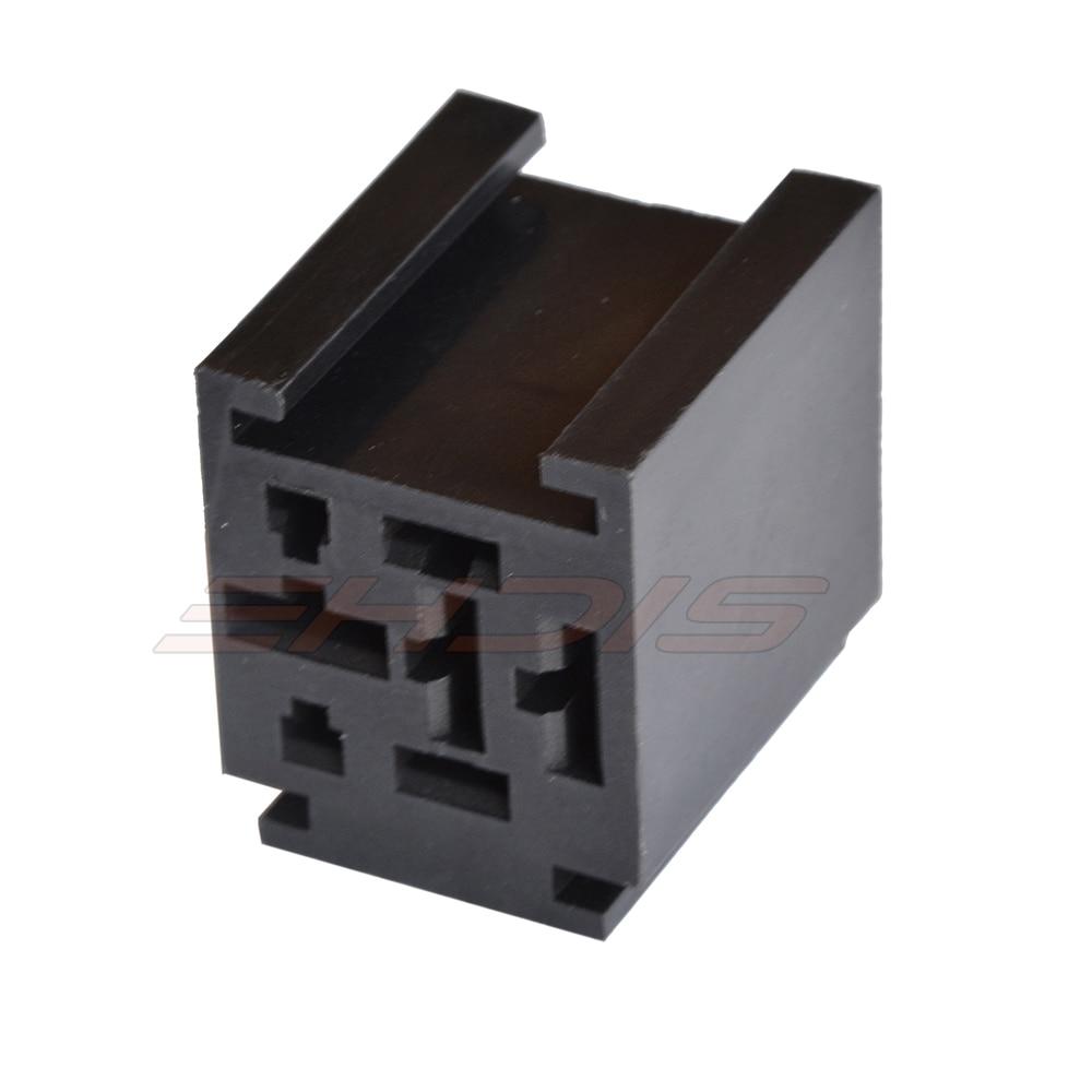 5pcs 80 Amp Relay Bağlayıcı 4 Terminallı 4 Pin Röley Soket: 2 x - Avtomobil elektronikası - Fotoqrafiya 2
