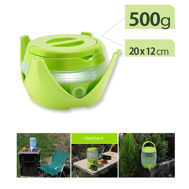 5 5l Collapsible Beverage Tub Dispenser Plastic Water Container For Outdoor Picnics Camping Best Price