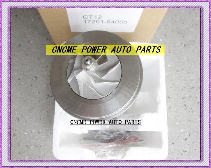 ターボ CHRA カートリッジコア CT12 17201 64050 17201 64050 1720164050 トヨタタウンエース LiteAce まで 2CT 2C T 2.0L|空気取り入れ口|自動車 &バイク -
