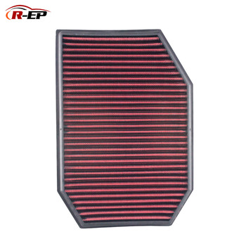 R-EP Replacement Reusable Air Filter OEM 13717590597 for BMW F10 F11 523 528 530 F01 F02 F04 730 High Flow Air Intake Washable цена 2017