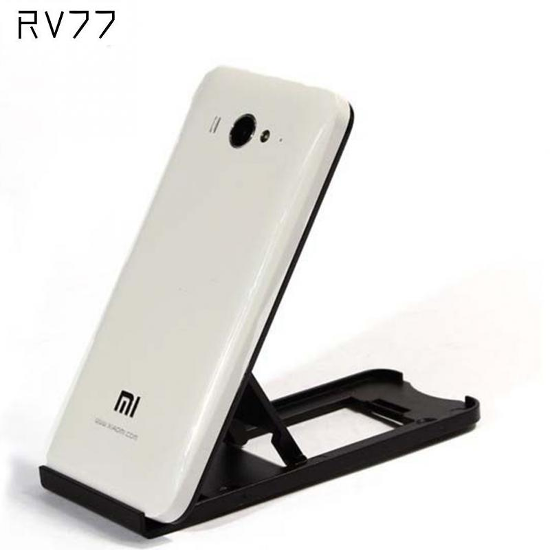 Universal Folding Mobile Phone Tablet PC Holder Plastic Adjustable Stand For Apple For Android Smart Phones