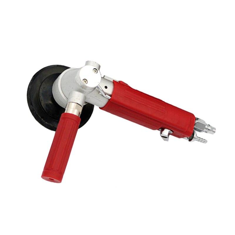 Air Sander 4 4 polegada de Alimentação de Água 100 milímetros Pneumáticas Lixadeiras Ar Pneumático Lixar Moagem Polimento Polimento de Pedra máquina de mármore - 5