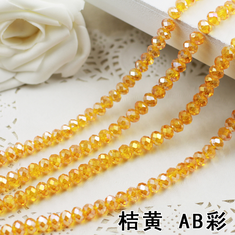 Orange AB Color 2mm,3mm,4mm,6mm,8mm 10mm,12mm 5040# AAA Top Quality loose Crystal Rondelle Glass beads sapphire ab color 2mm 3mm 4mm 6mm 8mm 10mm 12mm 5040 aaa top quality loose crystal rondelle glass beads