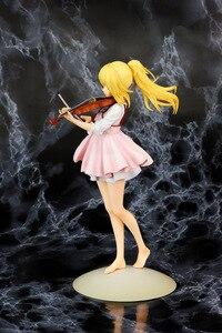 Image 5 - Figura de acción de your lie in, violín kaori miyazono de 23cm de PVC, figuras de juguete de coleccionismo, brinquedos