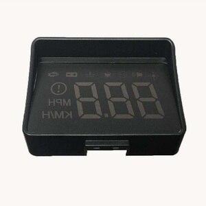 Image 3 - Samochodów HUD wyświetlacz Head Up nowej generacji ostrzeżenie o przekroczeniu prędkości System projektora szyby Auto elektroniczny Alarm napięcia A100S