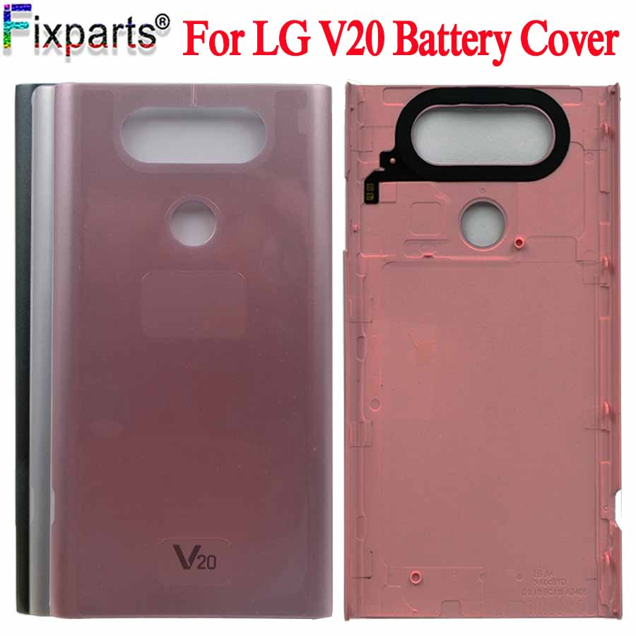 For LG V20 Back Battery Cover Door Rear Glass Housing Case For LG V20 Battery Cover Replacement Parts