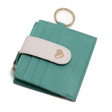 Artmi Womens Card Holder RFID Card Case Girls Wallet Vibrant ID Card Sleeve with Key Ring uv ink printed barcode card and plastic member key card 3 part supply