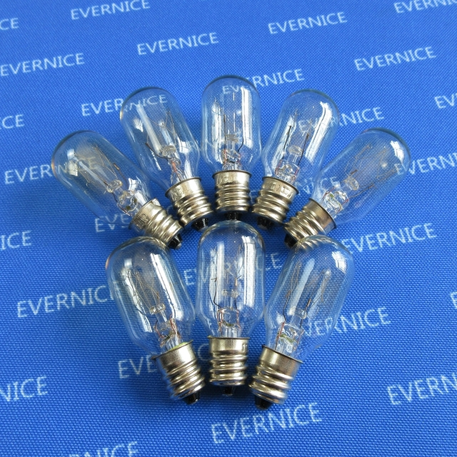 40 Screw In Clear Light Bulbs 40W For Juki Necchi Riccar Elna Brother Beauteous Kenmore Sewing Machine Light Bulb