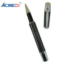 ACMECN Unique Full Carbon Fiber Rollerball Pen Gift Office & Business Stationery Liquid ink Signature Ball Pen for Business Gift high end unique snake rollerball pen creative gift black ink refill 0 7mm business office gift pens with a luxury gift box