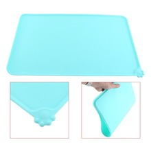 Dog Water Food Bowl Plate Silicone Tablecloth